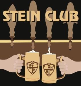 stein club logo 2 steins tap